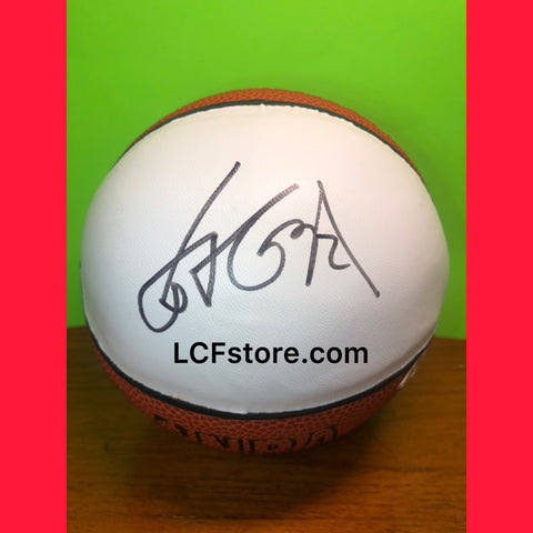 Houston Rockets Star Yao Ming Signed Mini Basketball