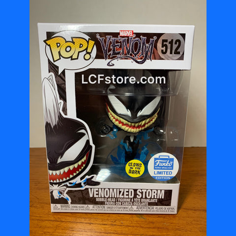 Venom Venomized Storm GITD Funko Exclusive POP!