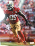 San Francisco 49ers Star Deforest Buckner autograph 8x10 photo.