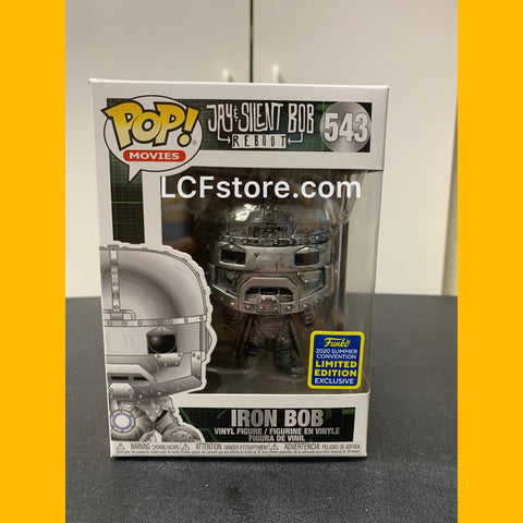 "Silent Bob ""Iron Bob"" SDCC Funko POP"