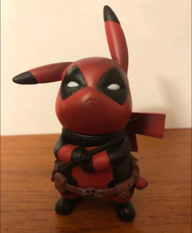Deadpool Pikachu Cosplay figure