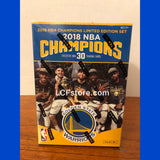 2018 Panini Golden State Warriors Championship Card Set