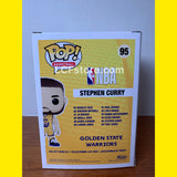 Stephen Curry Alternative Yellow Jersey Funko POP