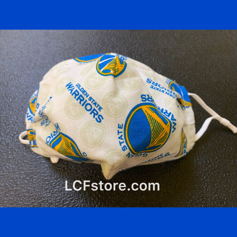 Golden State Warriors Handmade Facemask