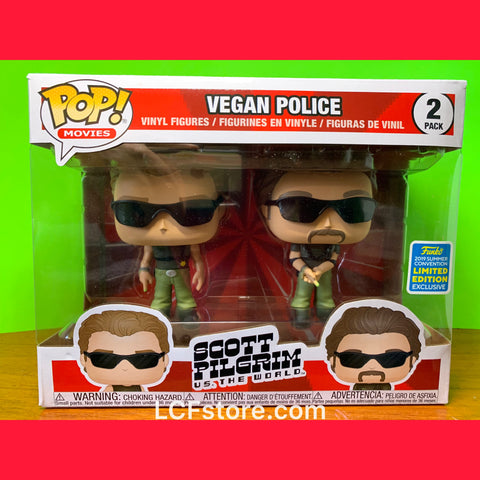 Scott Pilgrim Vegan Police Funko POP!