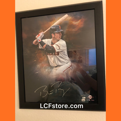 San Francisco Giants All-Star Buster Posey Autograph 20x24 Framed Photo