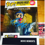 Sorcerer Mickey Mouse Moment POP Signed by Bret Iwan
