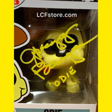 ODIE Funko POP! Signed by voice actor Gregg Berger