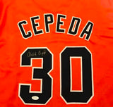 San Francisco Giants Great Orlando Cepeda autograph Jersey