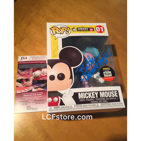 Mickey Mouse Funko Shop Exclusive POP Signed by Bret Iwan