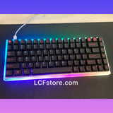 Under Glow Miami Nights RGB Custom Keyboard