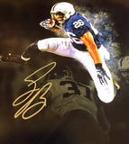 Penn St. and NY Giants Saquon Barkley Signed 8x10