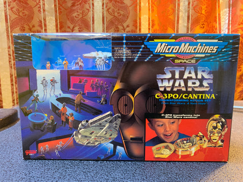Micro Machine Star Wars C-3PO/Cantina Action Set
