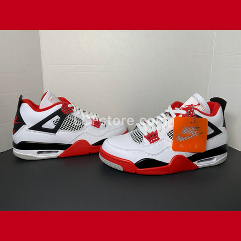 "NIke Air Jordan 4 Retro ""Fire Red 2020"""
