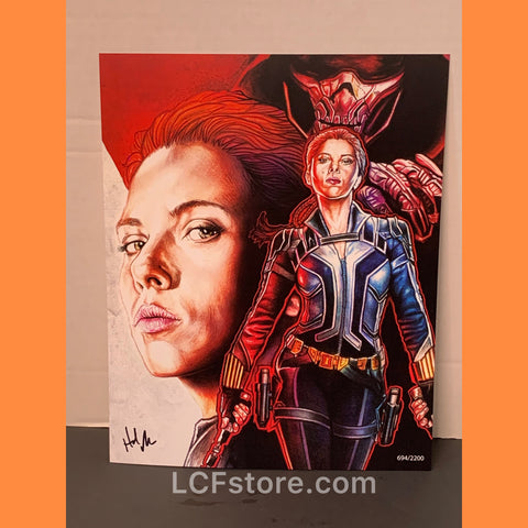 Black Widow Fan Art Print