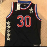 Golden State Warriors Stephen Curry autograph 2015 All-Star Jersey
