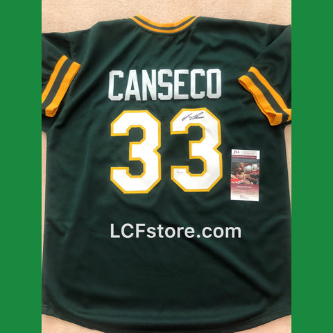 Oakland A's Jose Canseco Signed Custom Jersey