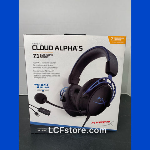 HyperX Cloud Alpha S - PC Gaming Headset, 7.1 Surround Sound