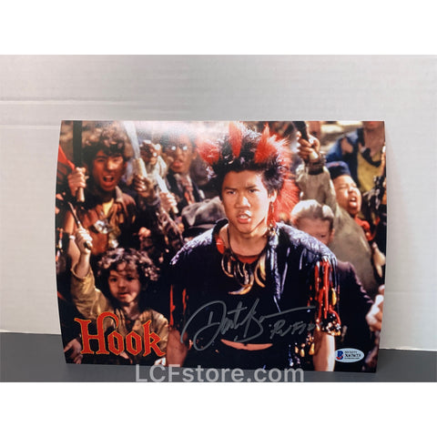 Dante Basco signed Hook 8x10 photo