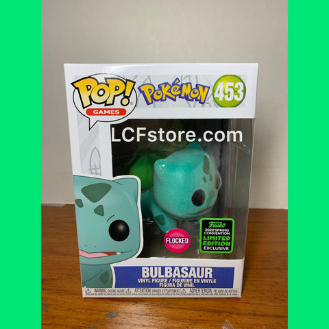 Pokémon Bulbsaur Flocked Funko POP!
