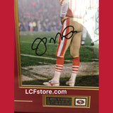 San Francisco 49ers Legend Joe Montana Signed Framed 11x14 photo