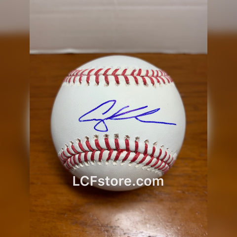 Adley Rutschman signed MLB baseball