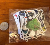 Lot of 42 Fortnite Stickers