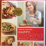 Giada De Laurentis Signed Happy Cooking Cook Book