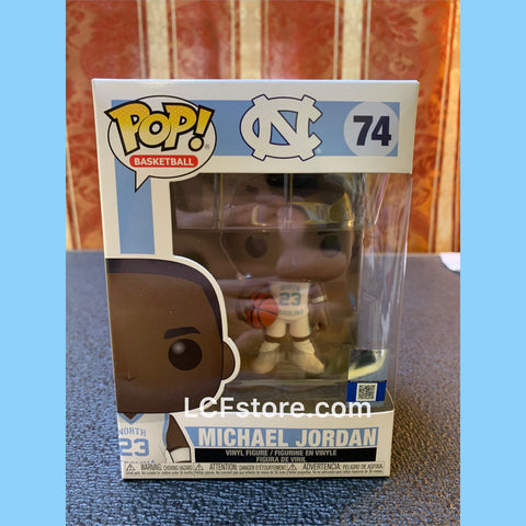 Michael Jordan UNC Away Uniform Funko POP