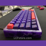 Custom Purple Mechanical Keyboard