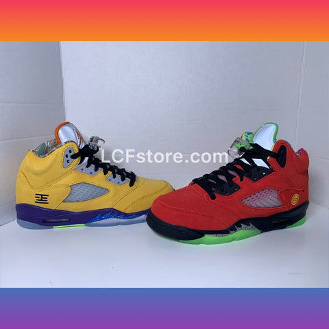 "Jordan Air Jordan 5 Retro SE GS ""What The"""