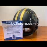 SF 49ers Brandon Aiyuk signed Eclipse Alternate Speed Mini Helmet