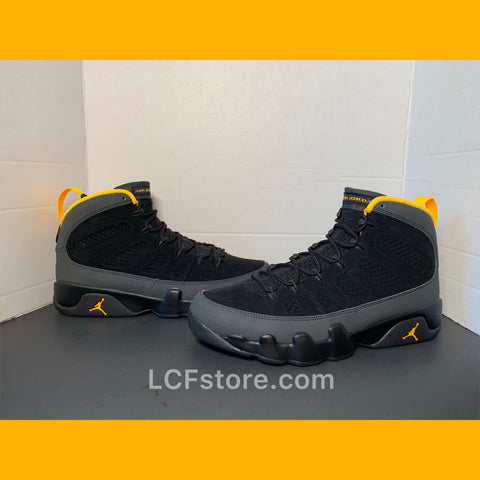 "Nike Air Jordan 9 Retro ""Dark Charcoal University Gold"""
