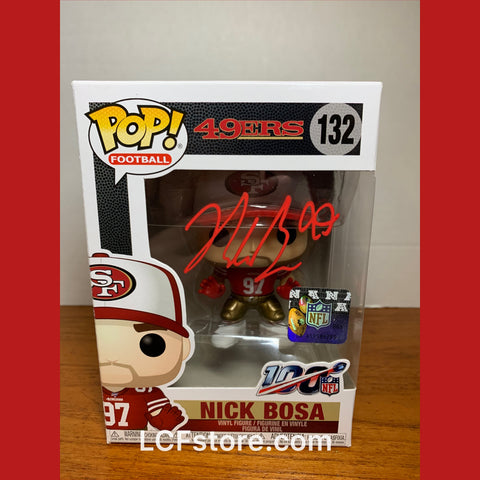 San Francisco 49ers Star Nick Bosa Signed Funko POP!