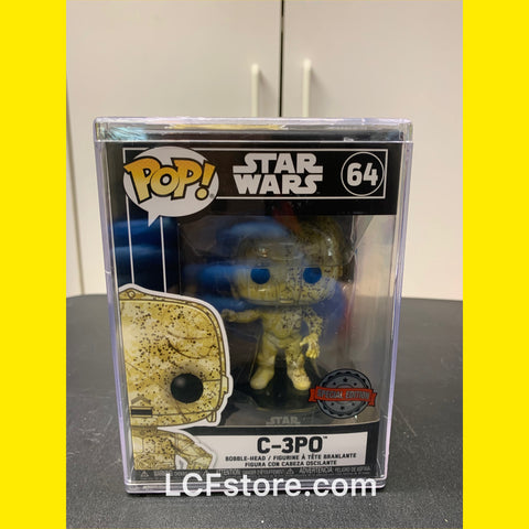 Star Wars Futura CP3O Speciality Store Exclusive Funko POP