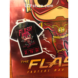 Lunch Box Exclusive The Flash POP and Tee Shirt Combo