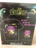 Marvel Avengers Thanos POP! and Tee Shirt