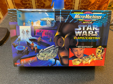 Star Wars Micro Machines C-3PO/Cantina Set