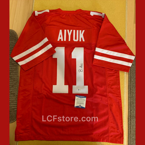 San Francisco 49ers Brandon Aiyuk Signed Jersey