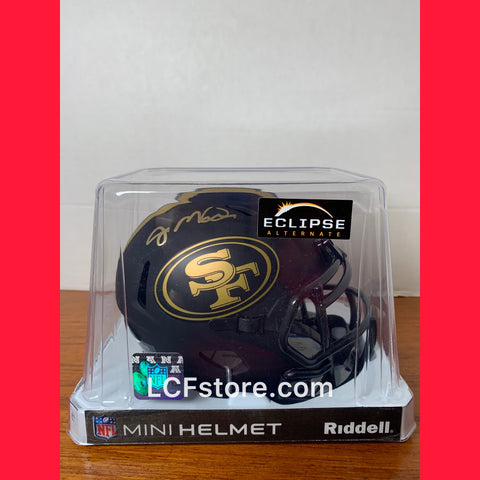 Joe Montana Signed Eclipse Mimi Helmet