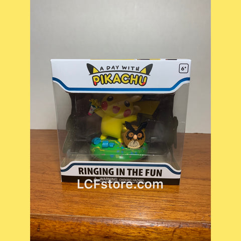 "A Day With Pikachu ""Ringing in the Fun"" Figure"