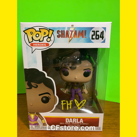 Faithe Herman signed Darla Funko POP!