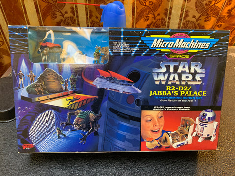 Star Wars R2-D2 / Jabba's Palace Micro Machines Set