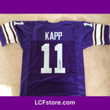 Minnesota Viking Legend Joe Kapp Autograph Jersey