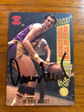 Jerry West autograph Card