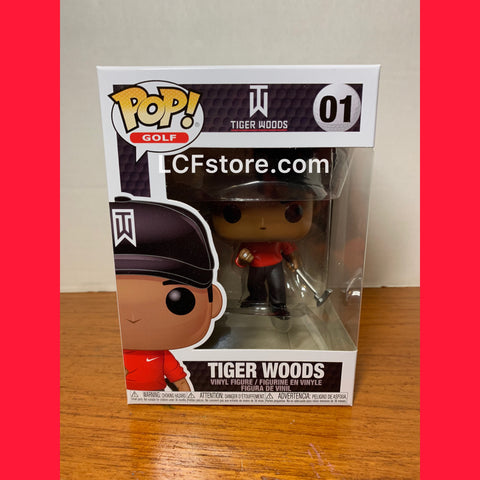 Tiger Woods Red Shirt Funko POP!