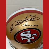 SF 49ers Star Wide Receiver Deebo Samuel signed Mini Helmet