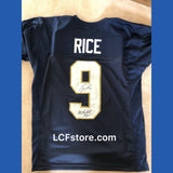 University of Notre Dame Tony Rice Autograph Jersey