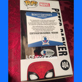 Jake Johnson voice actor Autograph Peter Parker Spider-Man Funko POP