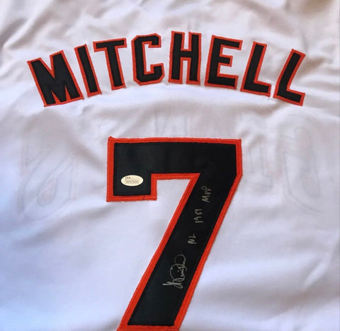 San Francisco Giants Kevin Mitchell autograph Jersey